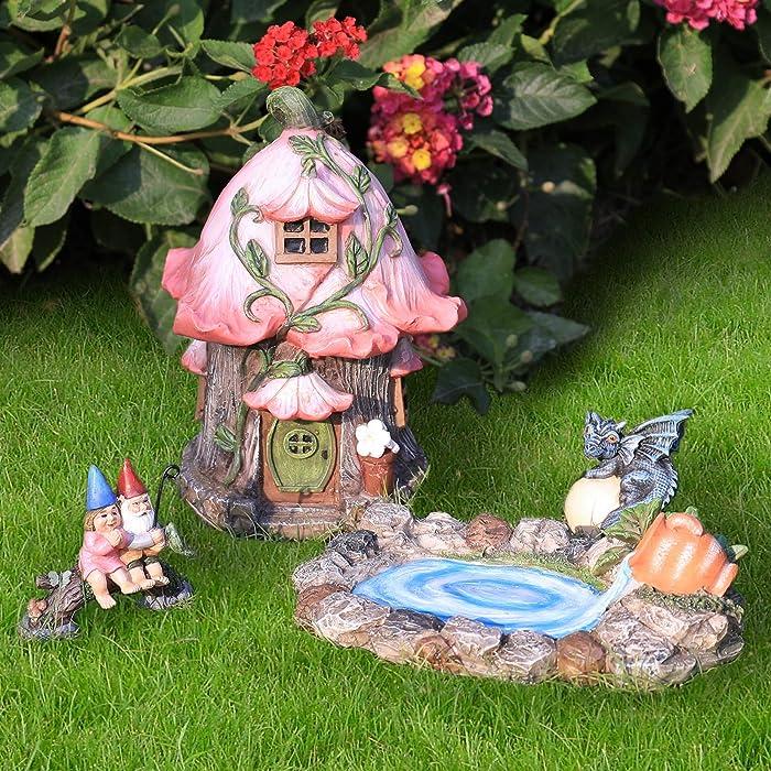Top 10 Gardening Gnomes Set Of 3 My Fairy Garden