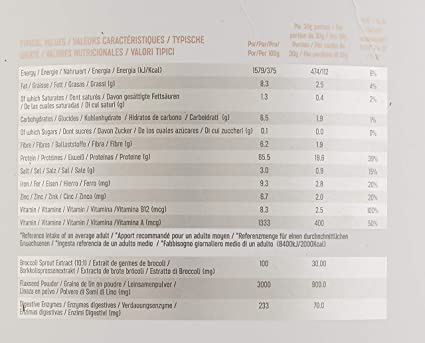 PBN - Bote de proteínas para veganos, 2.27 kg (sabor chocolate)
