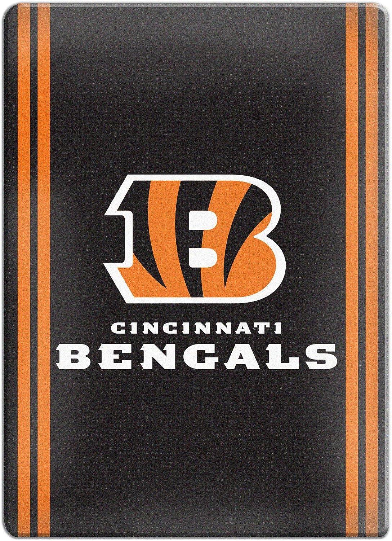 Boelter Brands NFL Cincinnati Bengals Ceramic Magnet Magnet, Black, 2.75