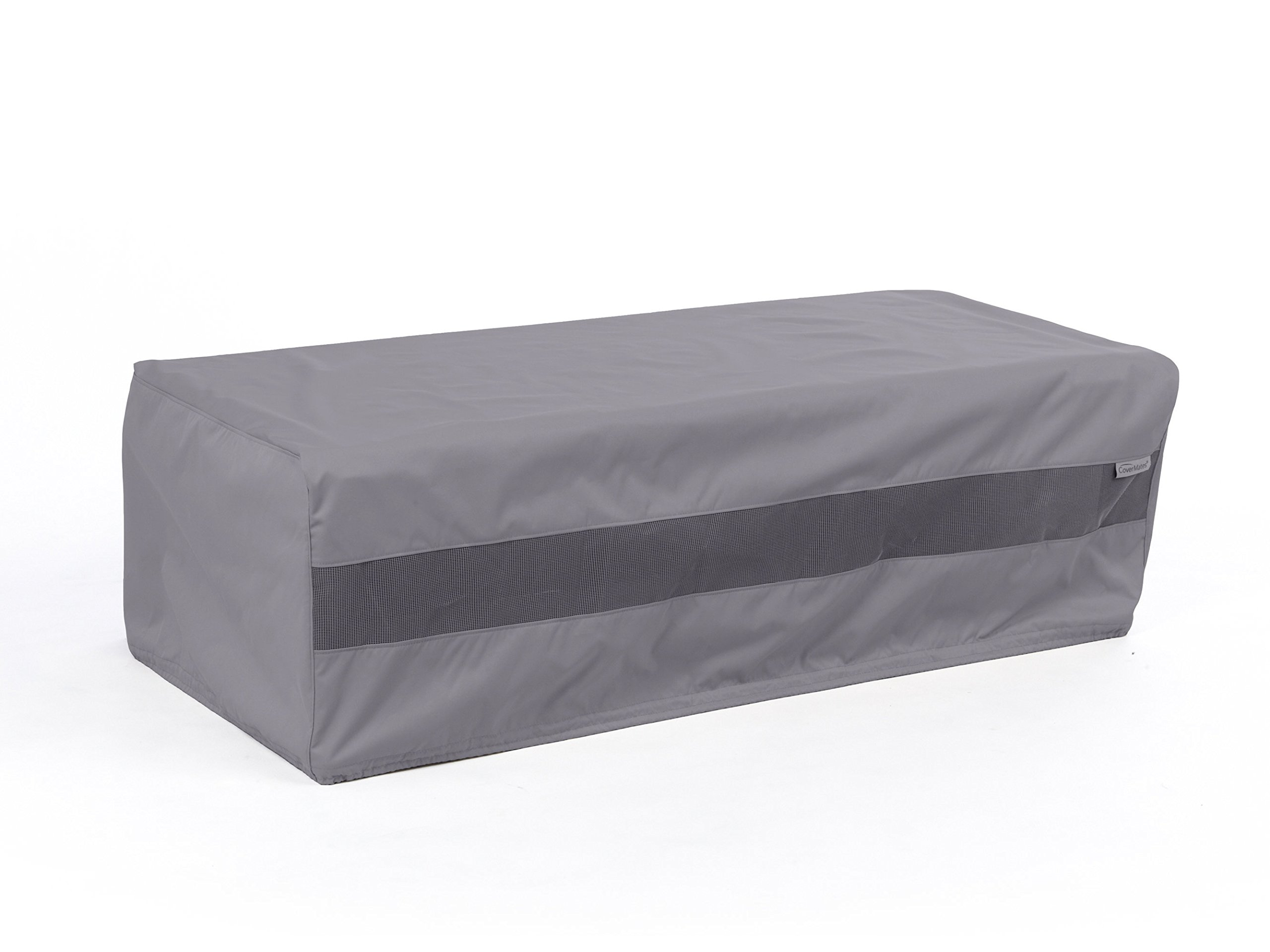 CoverMates – Rectangular Firepit Cover – 48W x 28D x 18H – Elite Collection – 3 YR Warranty – Year Around Protection - Charcoal