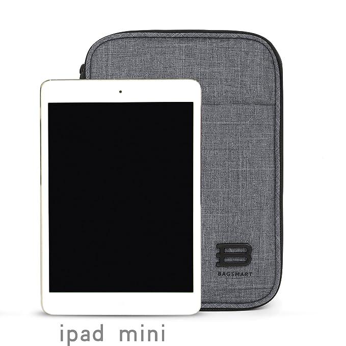 BAGSMART Organizador de cable de viaje de doble capa Accesorios para electrónica Cajas para discos duros, cables, carga, Kindle, iPad mini: Amazon.es: ...