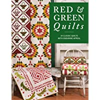 Image for Red & Green Quilts: 14 Classic Quilts with Enduring Appeal