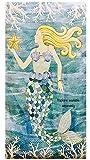 Lady Jayne Gold Foil Mermaid Tails Spiral HardBound Journal 28502