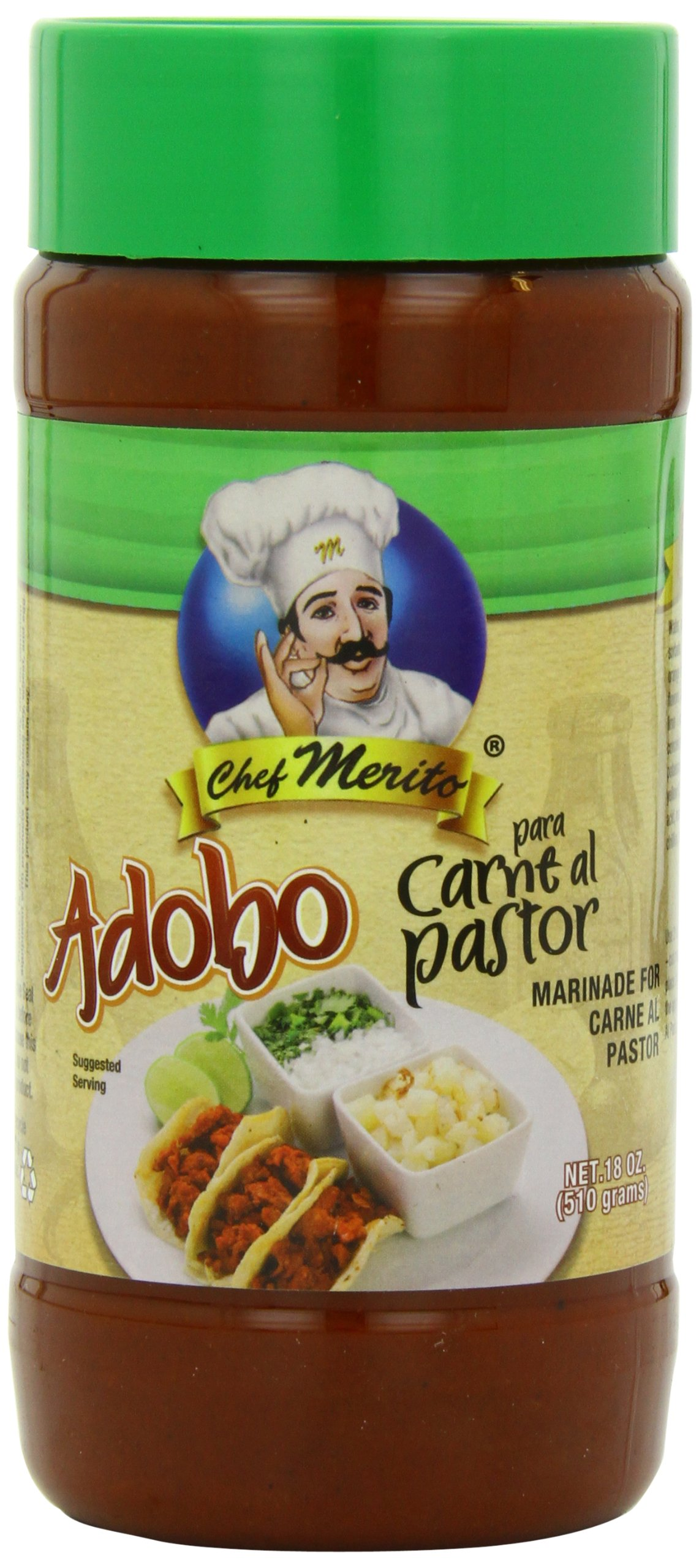 Chef Merito Adobo Carne Al Pastor, 18.0 Ounce by Chef Merito (Image #1)