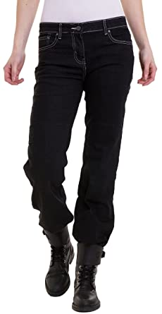 e4f8e6c18d Juicy Trendz Mujer Motocicleta Pantalones Moto Tramo Flaco Denim Jeans  Reforzado Proteccion Revestimiento Motorcycle Pants  Amazon.es  Ropa y  accesorios