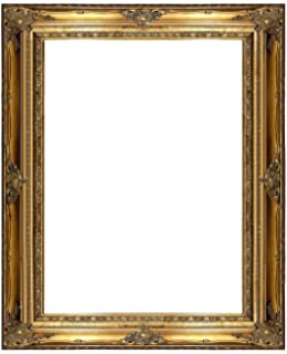 5762244c93ee Amazon.com - ImpactInt Cherry Wood Modern Rounded Picture Frame (5x7 ...