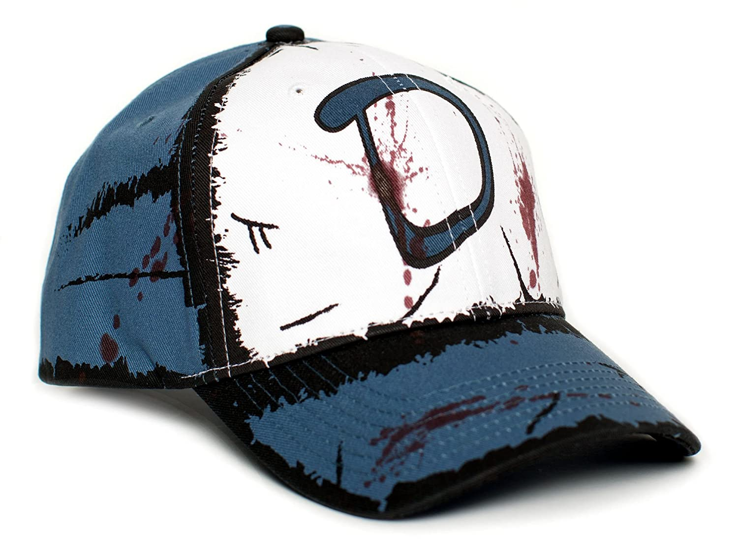 c0a2b4a5fe7 Clementine s Custom Blood Stain   Dirt Dead Zombies Cap Hat Unisex Slate at  Amazon Men s Clothing store
