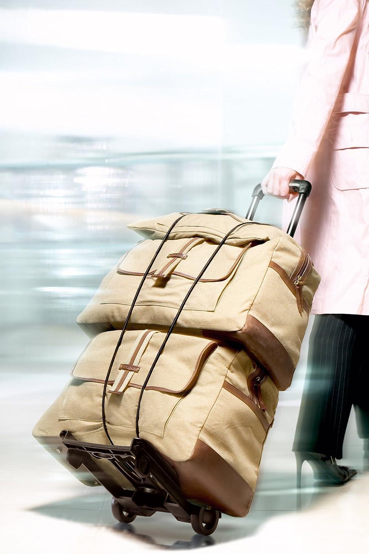 Chariot /à bagages Noir noir Gadgets4Travel