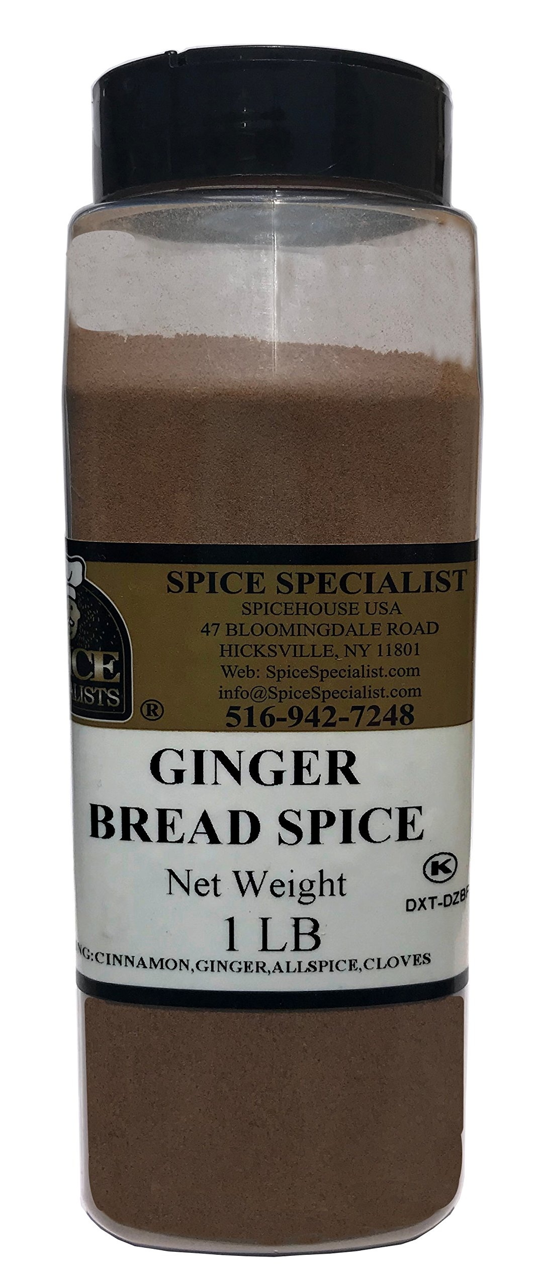 Chef Cherie's Gingerbread Spice in a One Pound Plastic Container