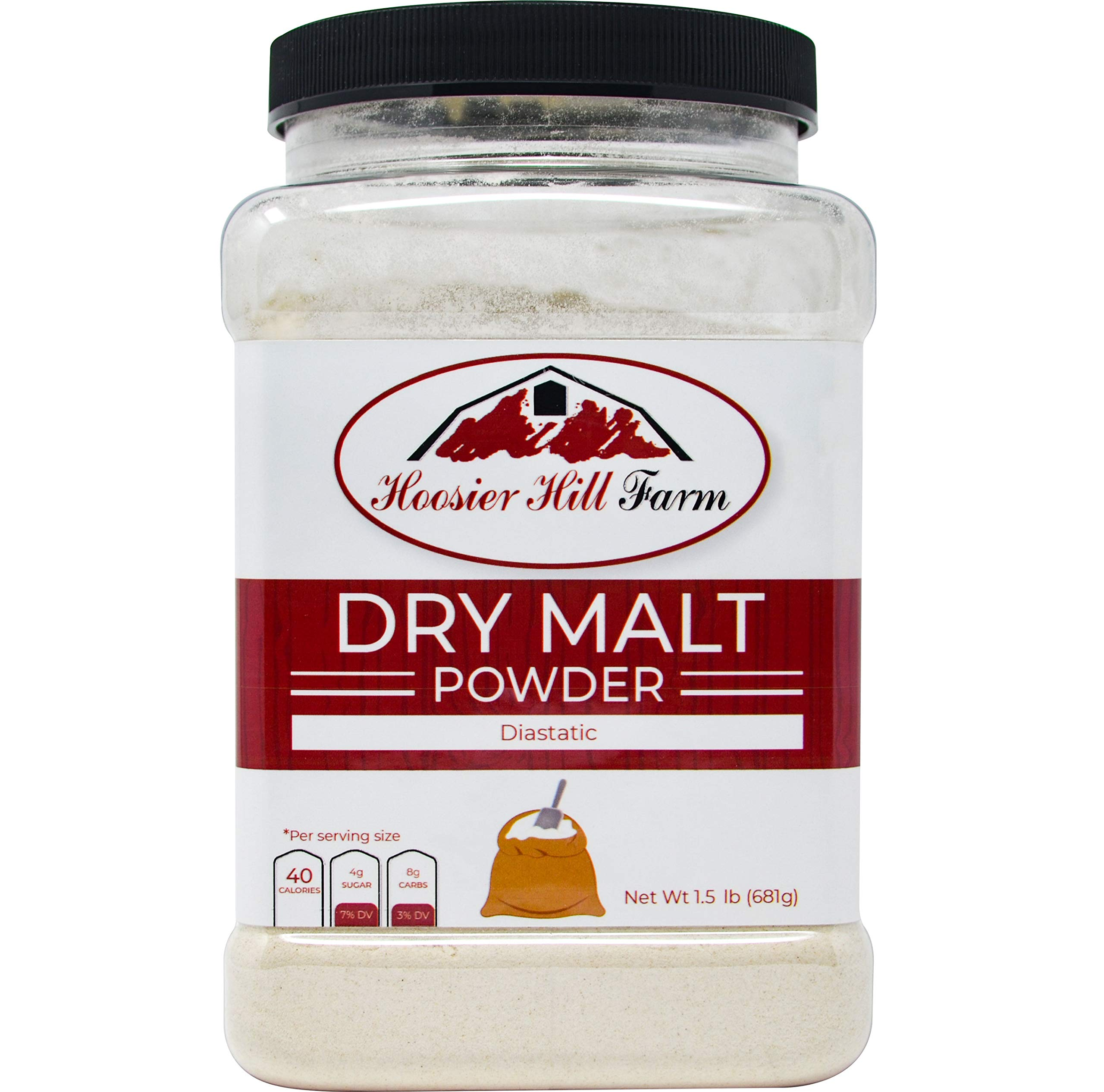 Hoosier Hill Farm Dry Malt (Diastatic) baking Powder 1.5 lb.