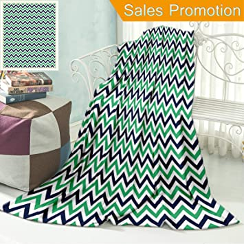 Amazon.com: Ailieo - Manta de franela horizontal con diseño ...