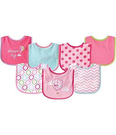 Luvable Friends 7 Piece Drooler Bibs with...