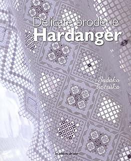 Délicate broderie Hardanger