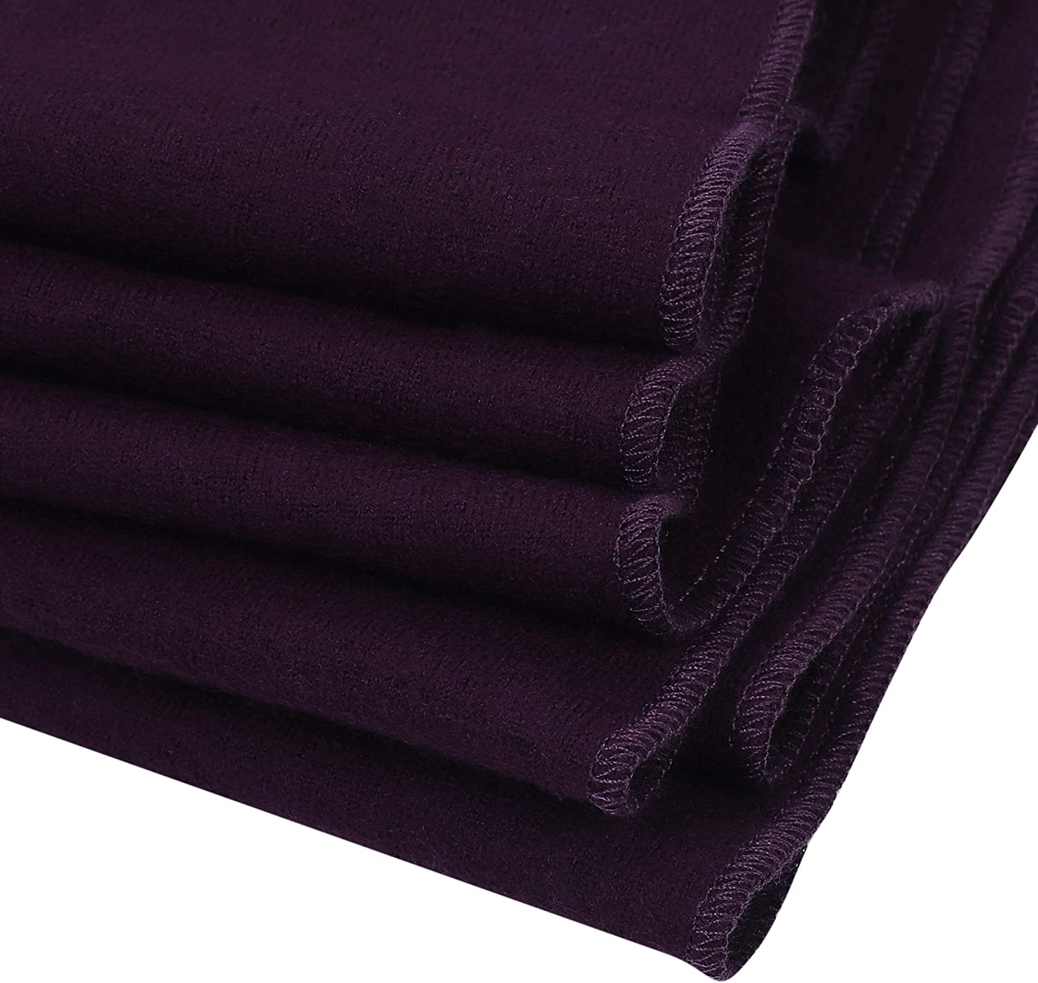 PuTian 100/% Womens Scarves Large Merino Wool Scarf Pashmina for Women Knitted Soft Warm Neckwear with Gift Boxes Lavender 78by14