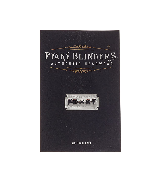 Peaky Blinders - Badge - Homme Argenté Silver régulier