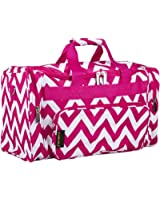 "20"" Print Carry-On Duffel Bag"