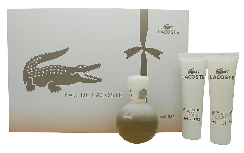 Lacoste - EAU DE LACOSTE FEMME LOT 3 pcs