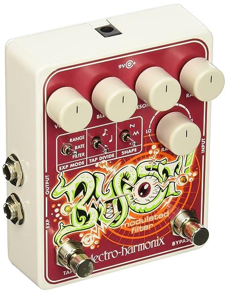Electro Harmonix 665080 efecto de guitarra eléctrica con sintetizador Filtro blurst