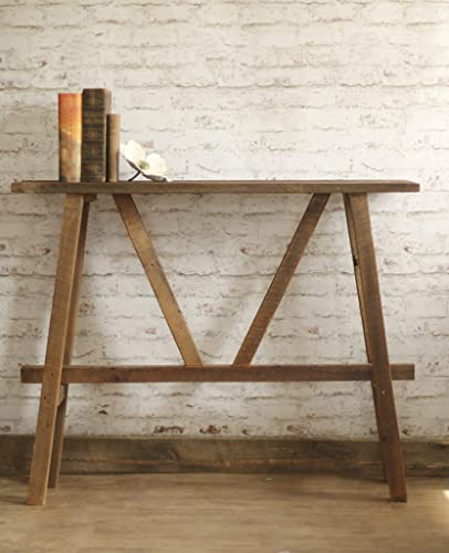 Marvelous Reclaimed Wood Sofa Table Console Ibusinesslaw Wood Chair Design Ideas Ibusinesslaworg
