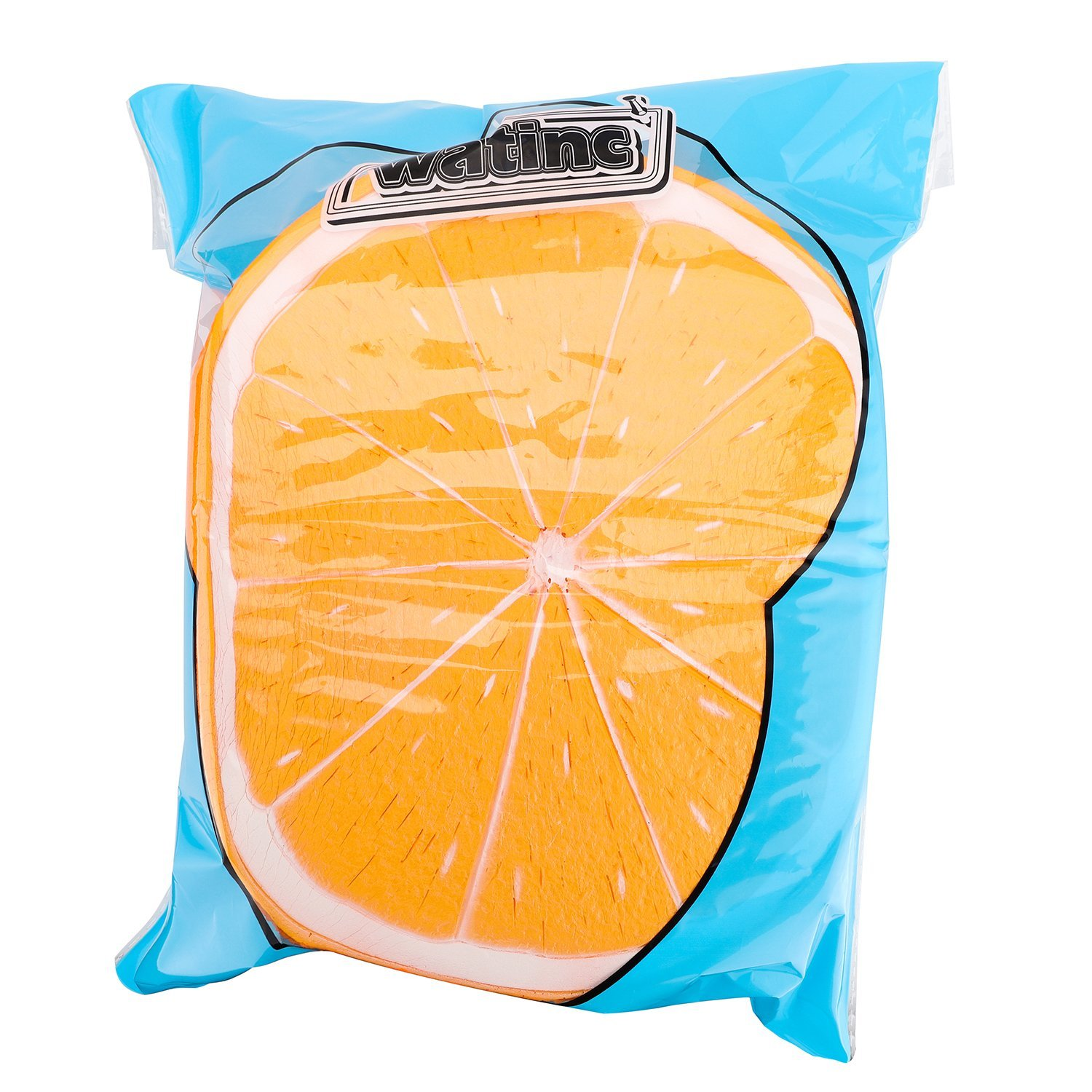WATINC 10'' Super Jumbo Orange, Kawaii Cream Scented Slow Rising Squishy for Kid Toy, Lovely Toy,Stress Relief Toy,Decorations Toy Gift Fun