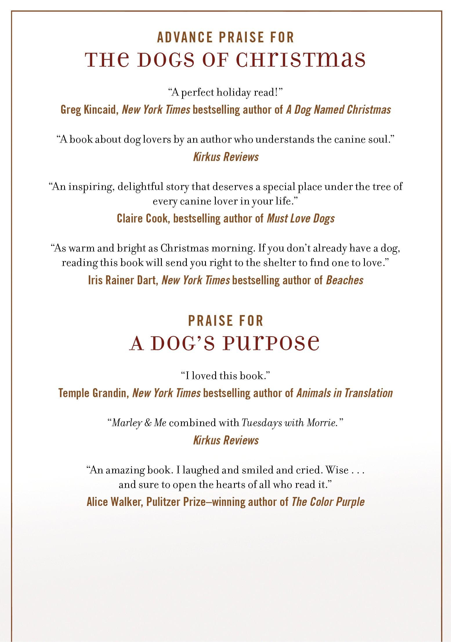 Amazon.com: The Dogs of Christmas (9780765330550): W. Bruce Cameron ...