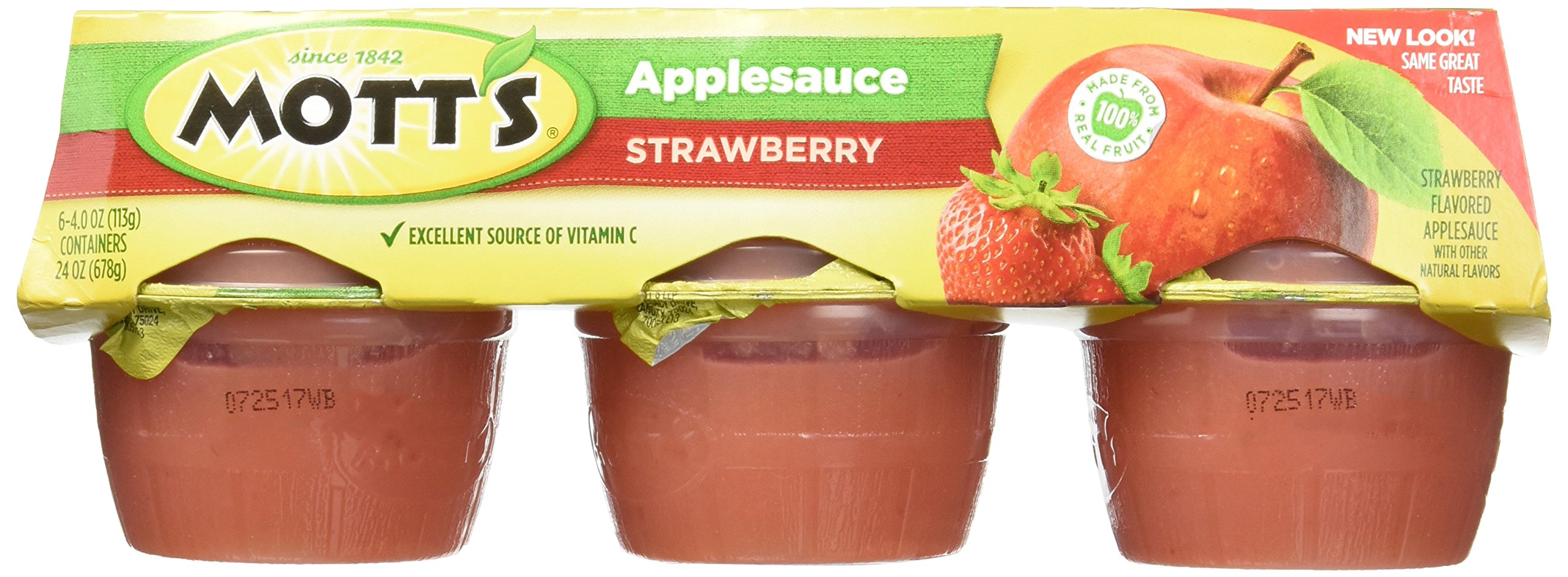 Mott's Fruitsations Strawberry Applesauce, 6 ct, 2 pk by Mott's