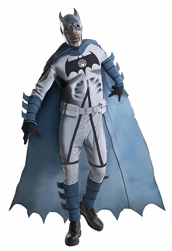 Amazon.com Blackest Night Adult Deluxe Zombie Batman Costume Multi X-Large Clothing  sc 1 st  Amazon.com & Amazon.com: Blackest Night Adult Deluxe Zombie Batman Costume Multi ...