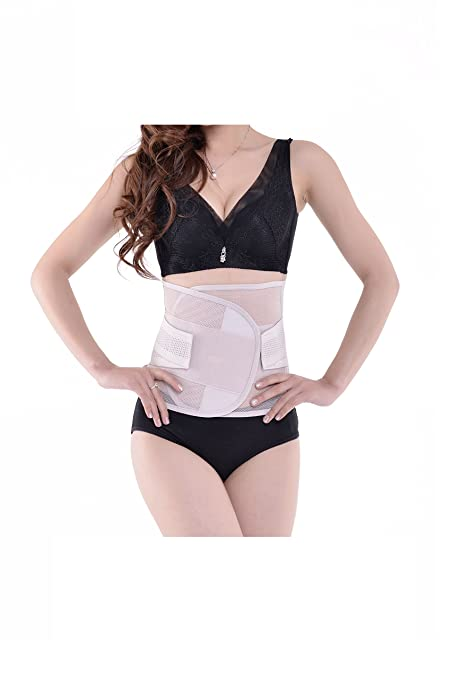 3c7a929912b Hysenm Super Breathable Adjustable Lumbar Back Brace Support Belt Waist  Trainer Trimmer Body Shaper for Women