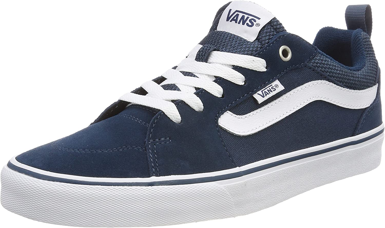 Vans Mens Filmore Stripe Suede Shoes