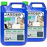 2 x 5 Litre Concentrate Jarder Spray & Leave Cleaner - Patio Fencing Decking - Moss Mould & Algae Killer
