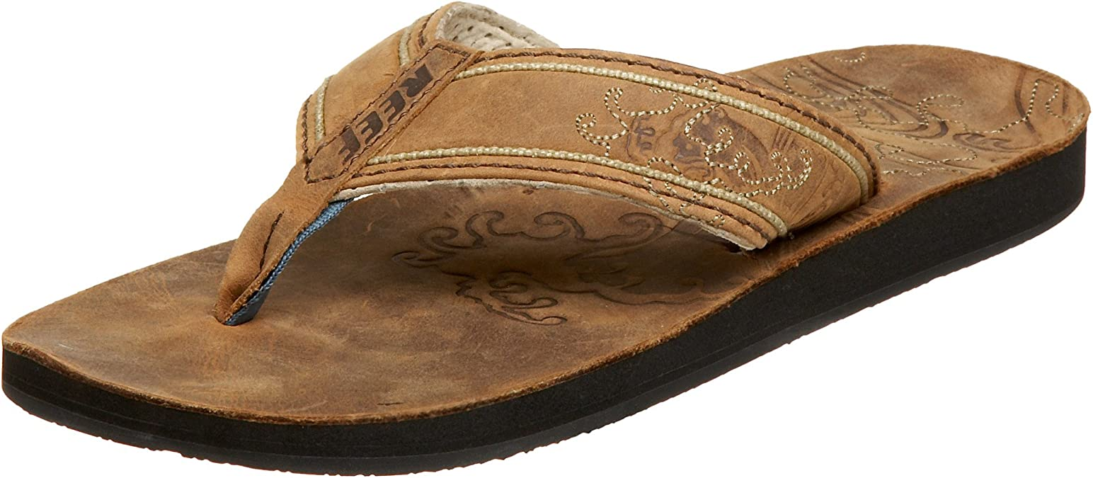 Reef 9SR2928-DB2-40 - Sandalias de Cuero para Hombre, Color marrón ...