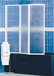 homegarden pareti vasca con lastre in crinex 134x140 cm