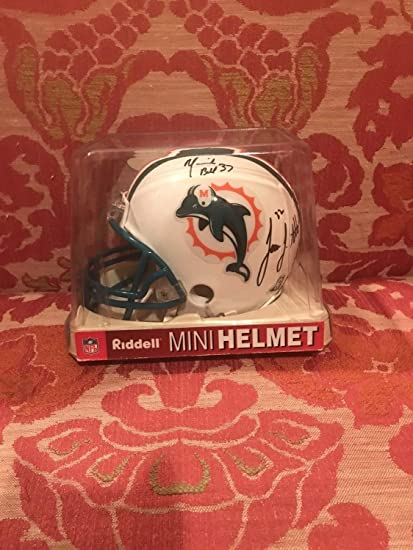 412c55d3c Paul Warfield Autographed Signed Miami Dolphins Throwback Mini Helmet HOF  83 Signature - Beckett Authentic