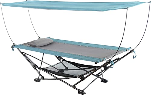 Mac Sports H806S-201 Collapsible Portable Removable Canopy Hammock