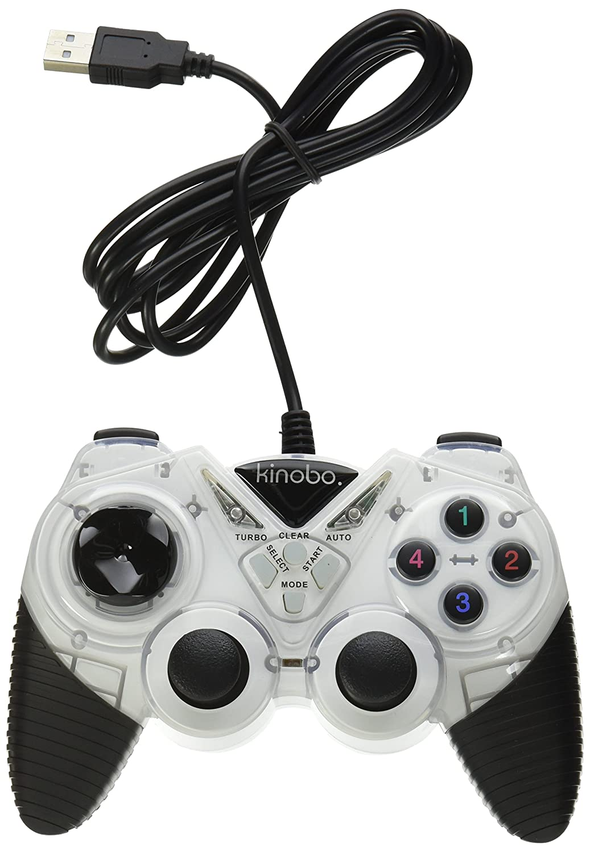 Kinobo USB Gamepad for PCs XP//Vista//Windows 7