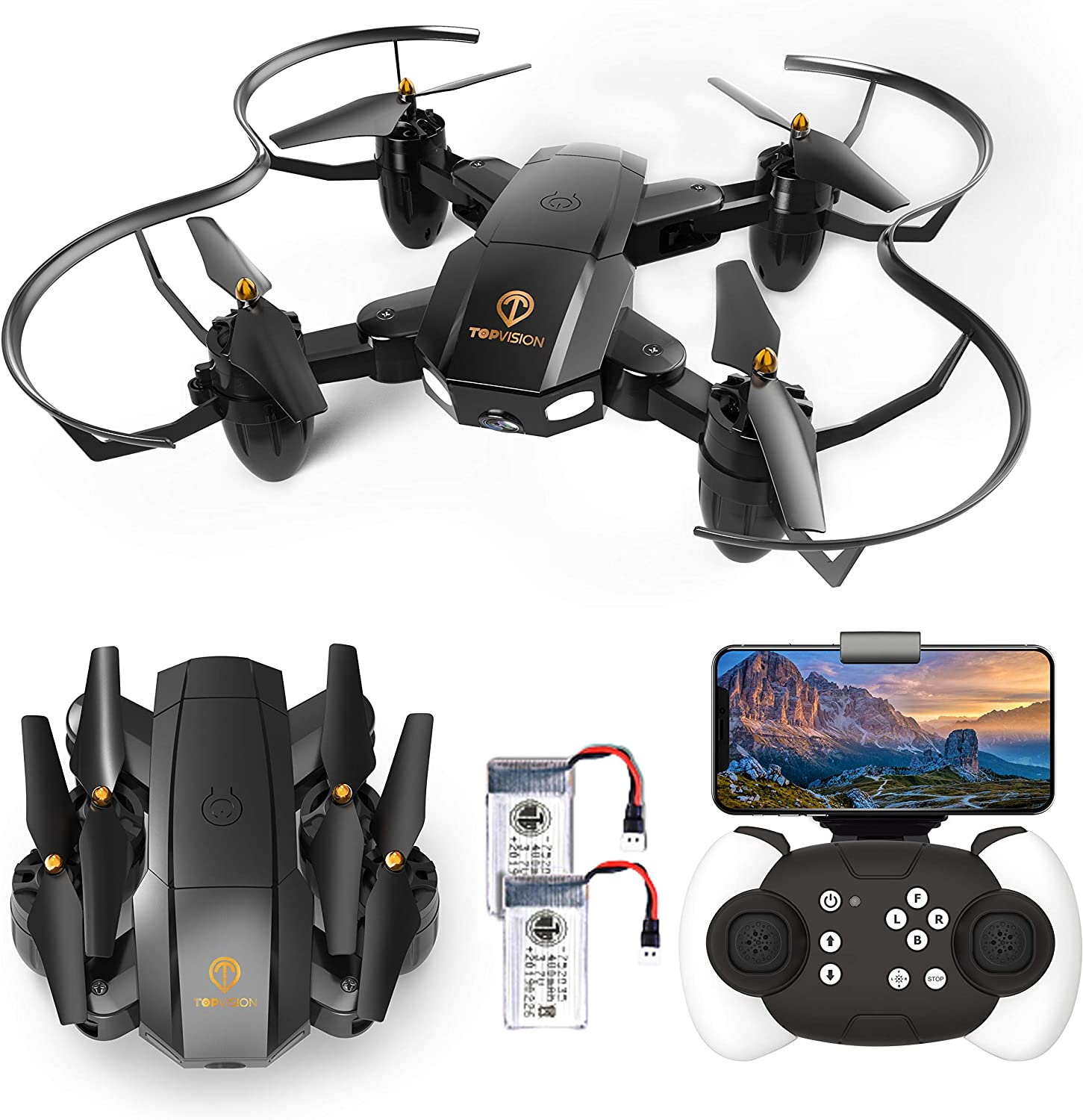 Topvision x39-1 is at #5 for best drones under 50 dollars