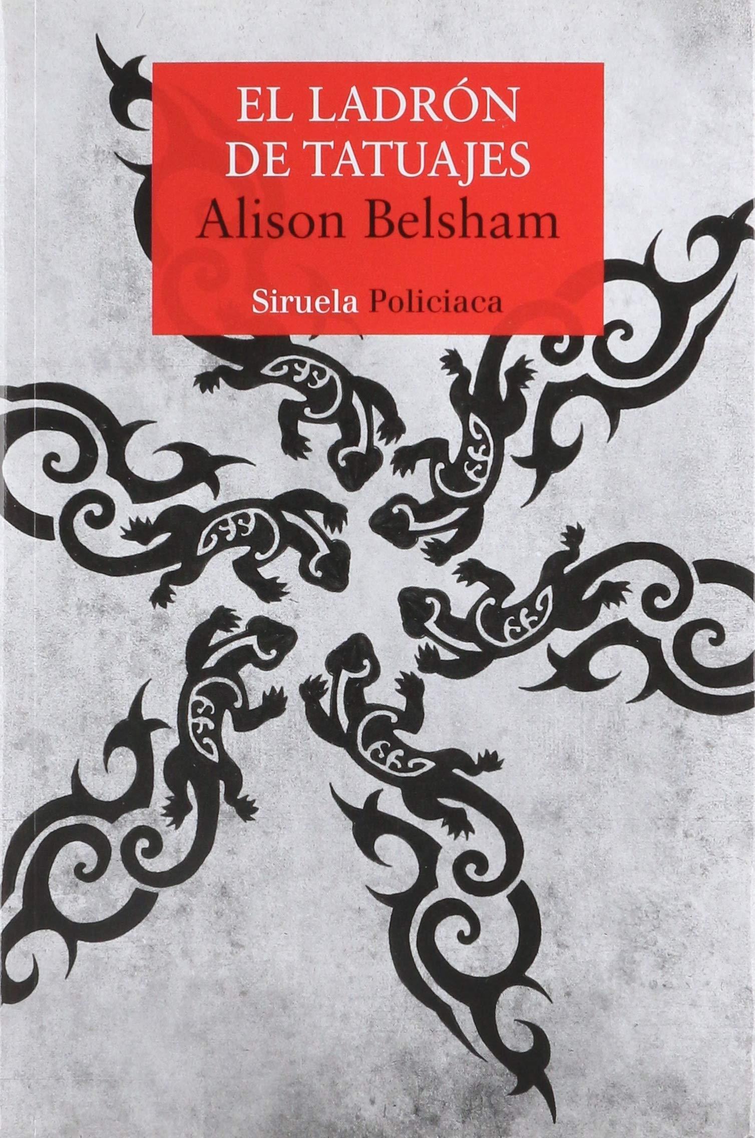 El ladrón de tatuajes: ALISON BELSHAM: 9788417454593: Amazon ...