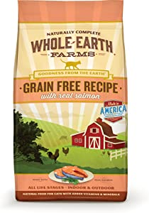 Whole Earth Farms Grain Free Salmon Recipe 2.5 lb Bag