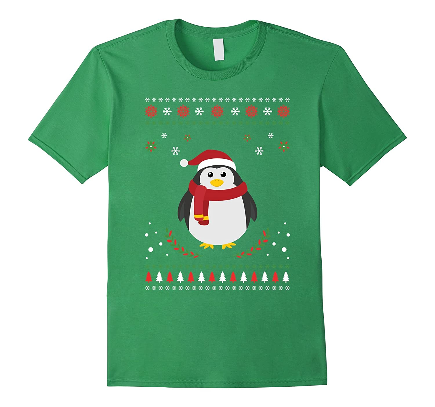Cute Penguin Christmas Ugly Style Shirt-ANZ