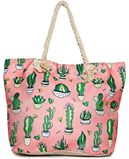 650f1e26668d Amazon.com: Llama Beach Shoulder Tote Bag - Sheep Llama Weekender ...
