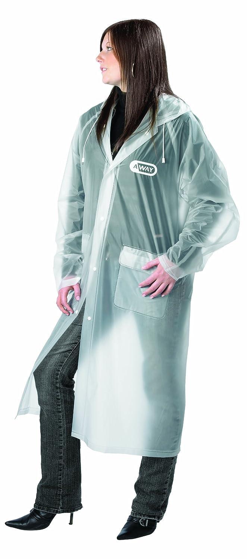 Go Travel Unisex 100% Emergency Waterproof Reusable Lightweight Raincoat (Ref 820)
