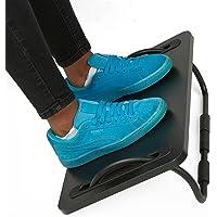 Mind Reader FTILT-BLK Tilting Ergonomic Foot Rest, Smooth Surface, Adjustable Angles, Black