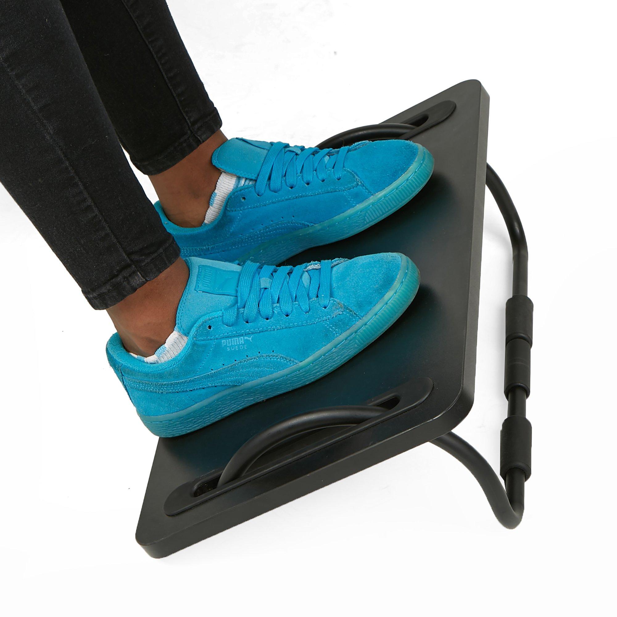 Mind Reader FTILT-BLK Tilting Ergonomic Foot Rest, Smooth Surface, Adjustable Angles, Black by Mind Reader