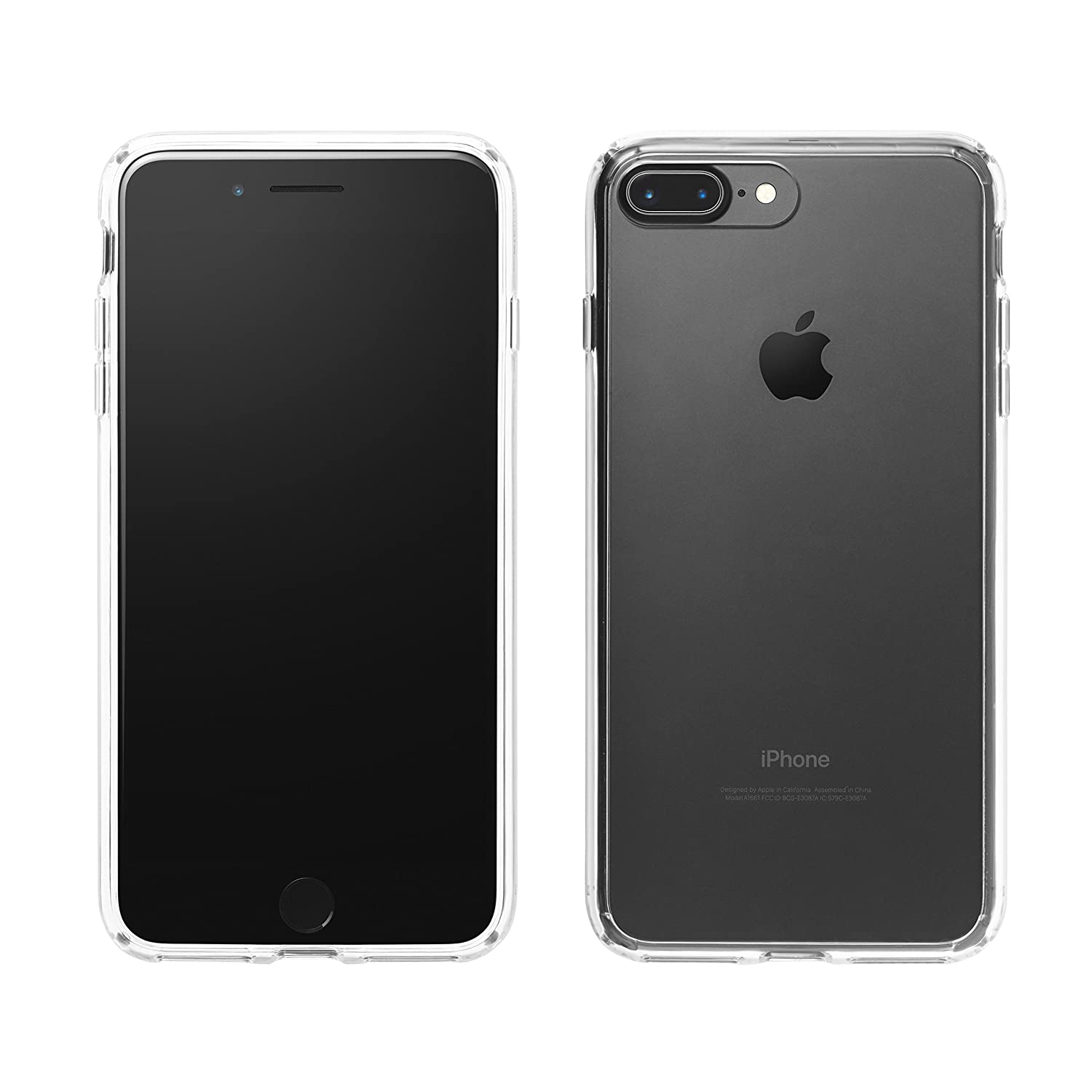 9146df4e1a9 AmazonBasics Mobile Case for Apple iPhone 7 Plus (Clear)  Amazon.in   Electronics