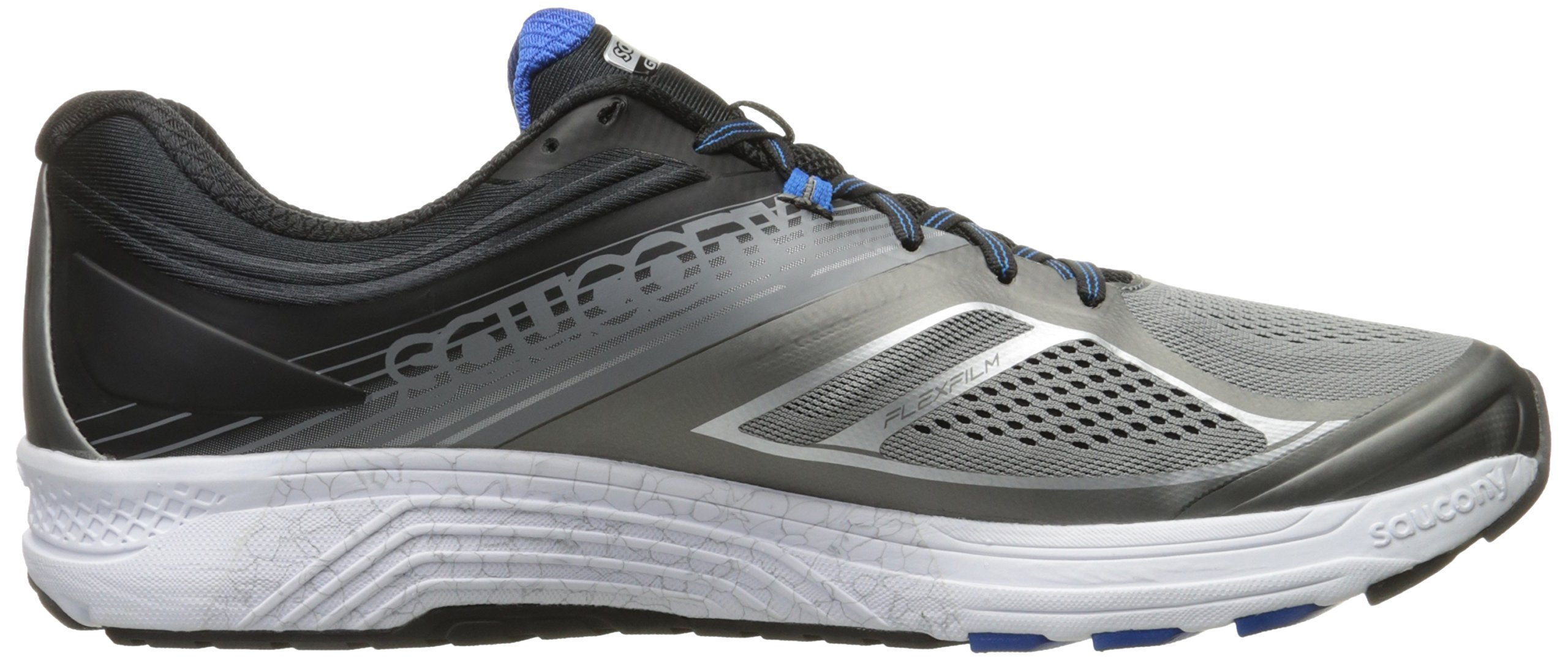 Saucony Men's Guide 10 Running Shoes, Grey Black, 14 D(M) US by Saucony (Image #8)