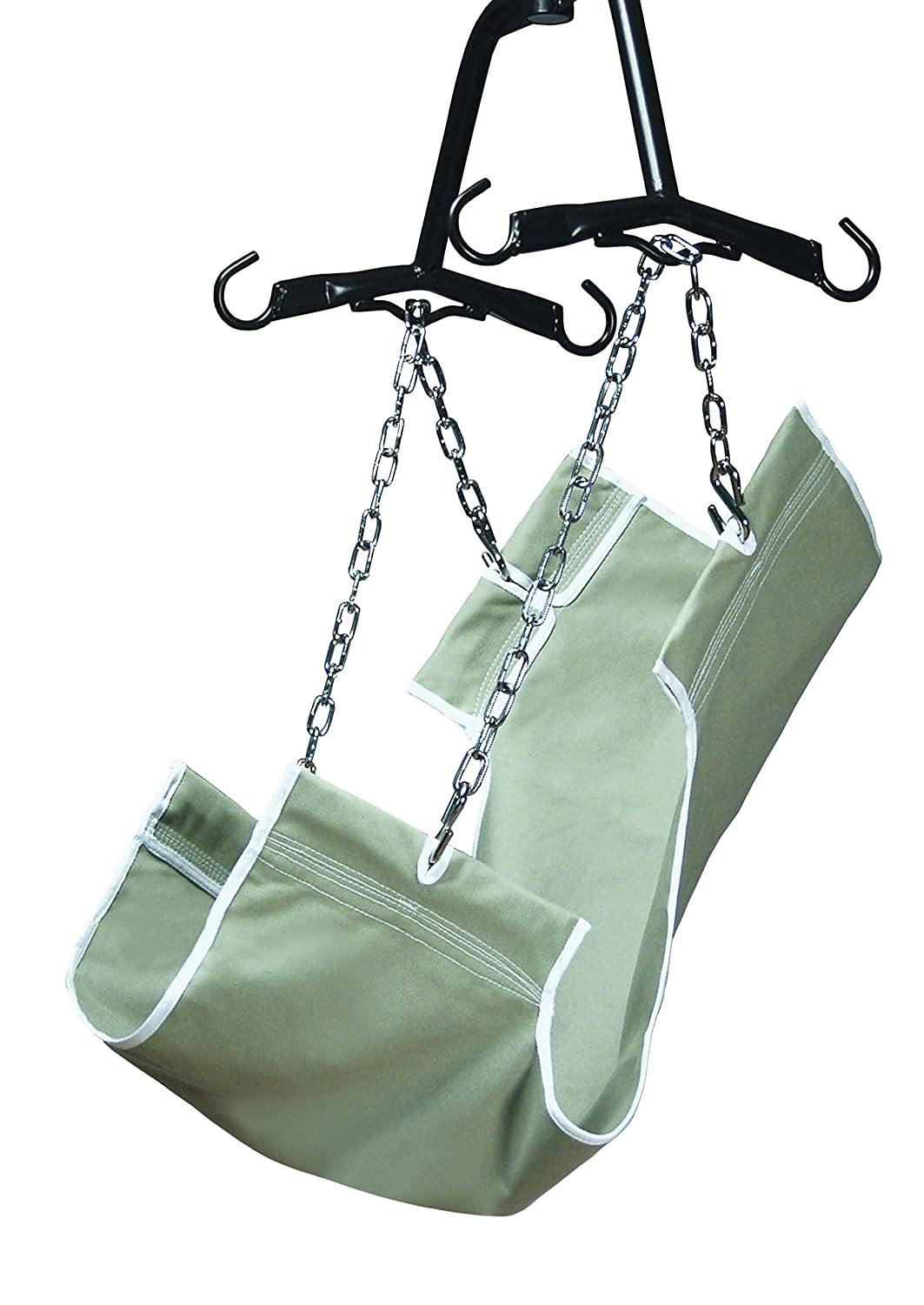 Lumex Standard 2-Point Sling for Patient Lifts, Canvas Fabric, One-Size, 220 Pounds, GF112-C-LC