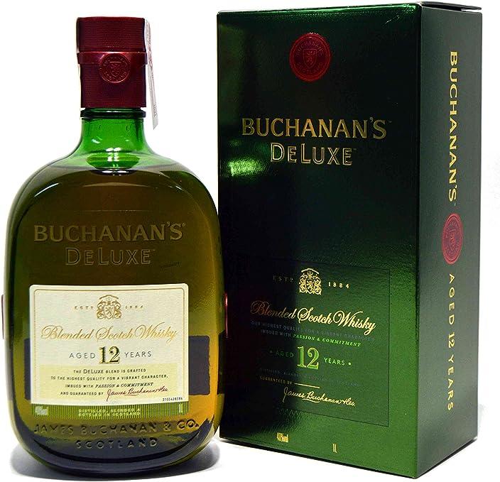 Whisky Buchanans 12 Years Amazon Es Alimentacion Y Bebidas