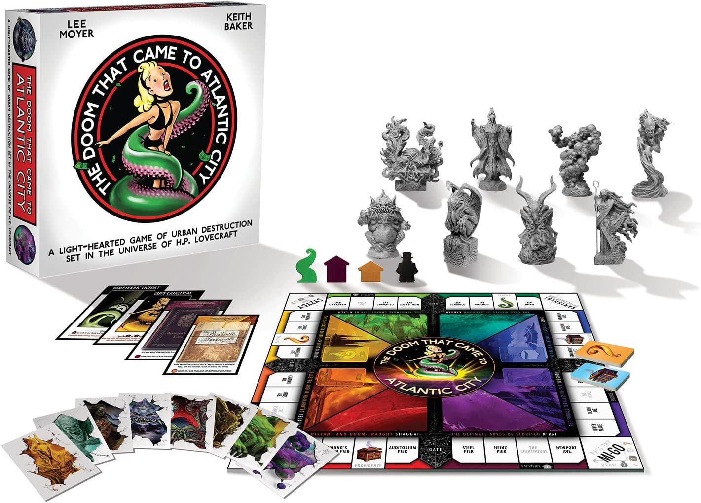Renegade Game Studios rgs01702 – Tabla de Juegos, The Doom That Came to Atlantic City Board Game: Amazon.es: Juguetes y juegos