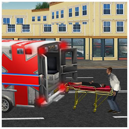 911 Emergency Rescue Ambulance