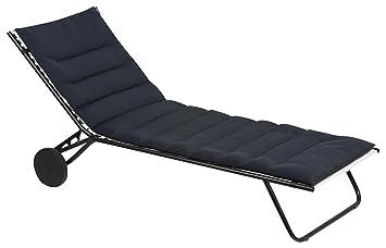 Lafuma Gepolsterte Air Comfort Auflage Für Sonnenliegen Acier